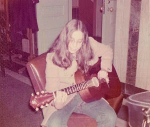 early december 1971 stacy and guitar