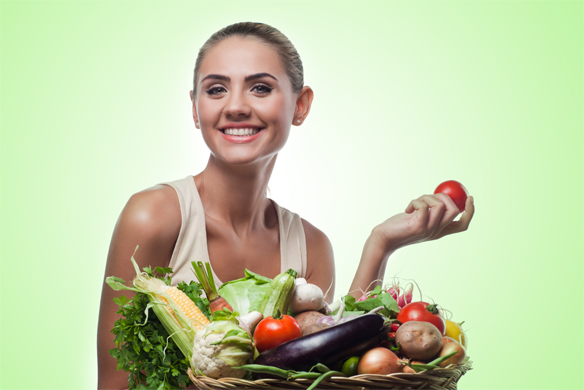 Because, where would we be if people didn't fake that they actually like vegetables? Shutterstock