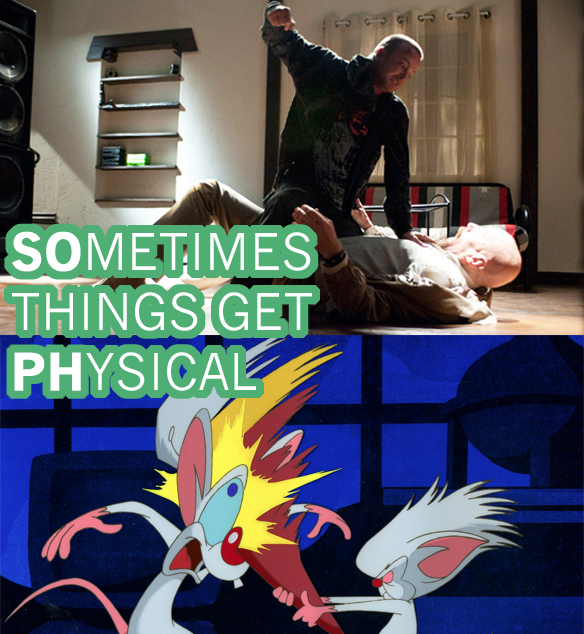 The Magnificent Similarities Between Breaking Bad & Pinky And The Brain