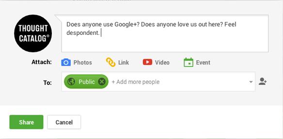 Thought Catalog Google+