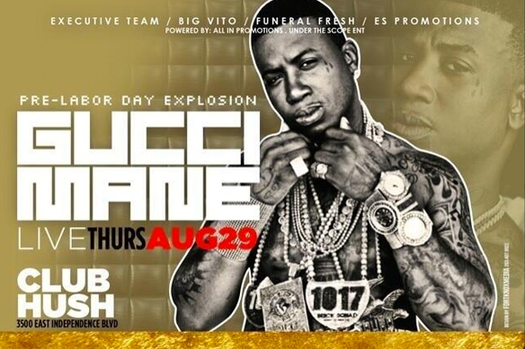 Breaking: Gucci Mane Has Declared A War On Everyone