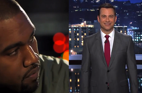 Kanye West Declares War On Jimmy Kimmel In Kanye West-Style Twitter Meltdown