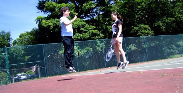 James Altucher levitating