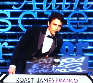 The Best Zingers From James Franco's Comedy Central Roast That Will Keep You Laughing All Week
