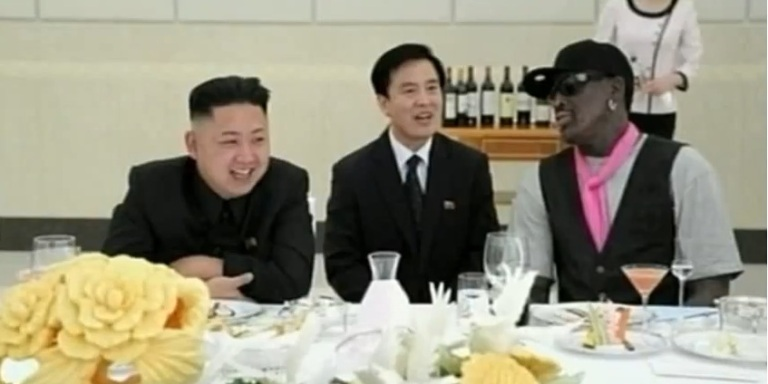 Rodman And Kim Jong-un, The Oddest Couple In the Oddest Nation In TheWorld