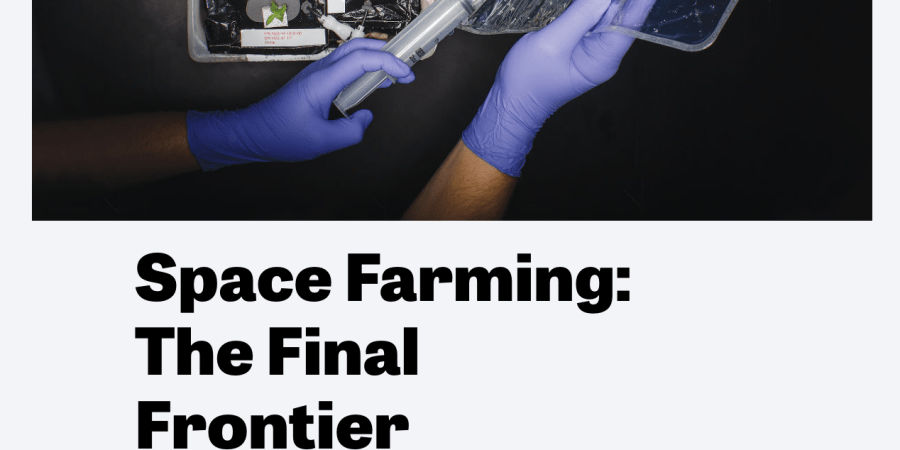 Growing Food In Space: It's Not So Science FictionAnymore