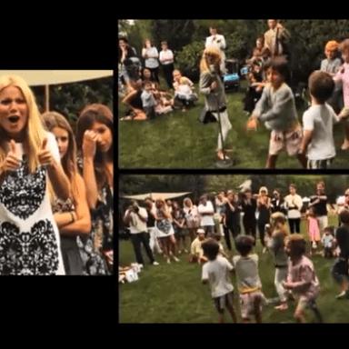 """Gwyneth Paltrow Throws Predictably Absurd """"English Garden Party"""""""