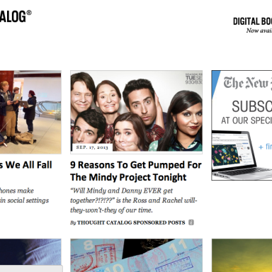 The 15 Most Popular Thought Catalog Articles From Last Week