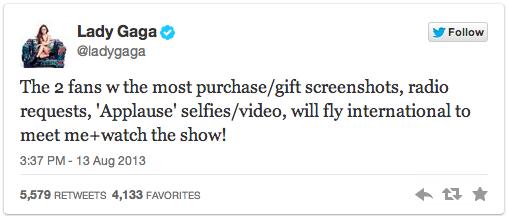 Lady Gaga's Twitter