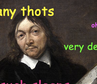 7 Famous Thinkers, Presented As Doges