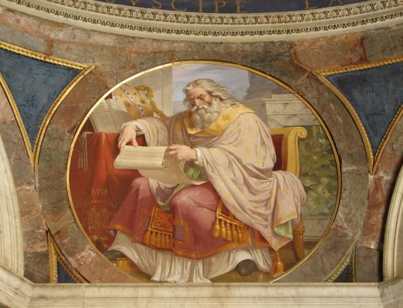 St. Ambrose reading
