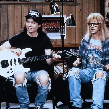 25 Things You Definitely Already Knew About 'Wayne's World'