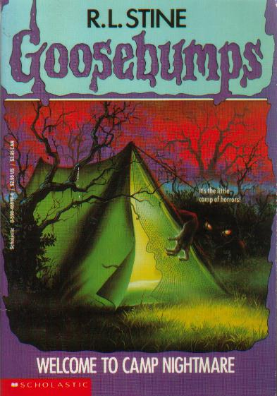 Goosebumps #9: Welcome to Camp Nightmare