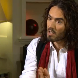You Have To Watch This Epic Clip Of Russell Brand Shutting Down A News Anchor