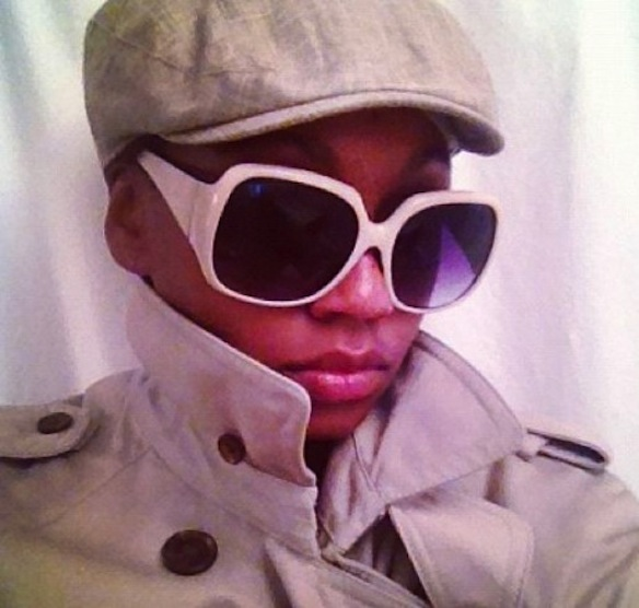 """""""I'll be waiting there with my trench, my locs, my hat. Just so I'm low key.""""-- Aaliyah"""