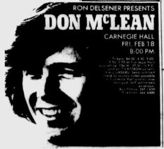 feb 1972 don mclean