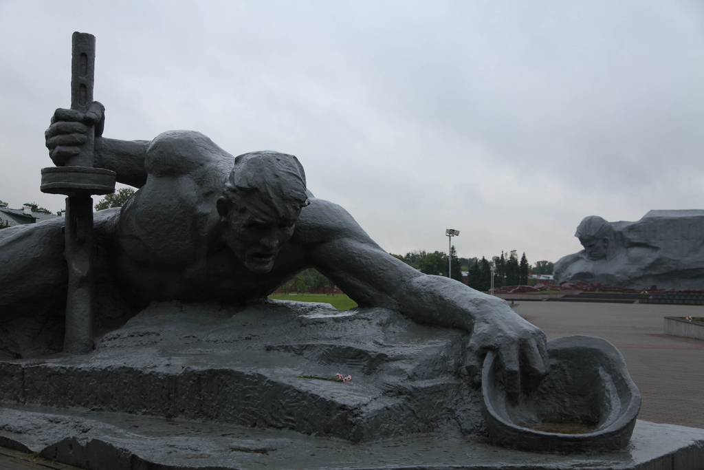 Monument at Brest Fortress