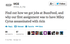 35 Hilarious Tweets From The Fake Vice Account That Are Even Better Than The RealThing