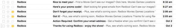 My actual emails that reek of desperation