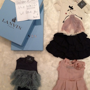 Real Talk: Lanvin Outfits For Kim And Kanye's Baby Could Feed All The Poors