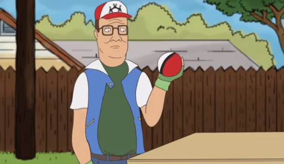 Spice Up Your Tuesday With This Video Of Hank Hill and Boomhauer Having a PokemonBattle