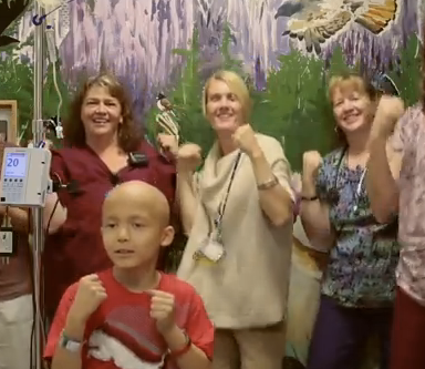 "Here's Your Heartwarming Video Of A Children's Hospital Performing Katy Perry's ""Roar"""