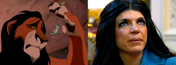 The Lion King / The Real Housewives Of New Jersey