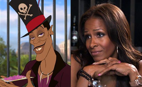 The Princess And The Frog / Real Housewives Of Atlanta