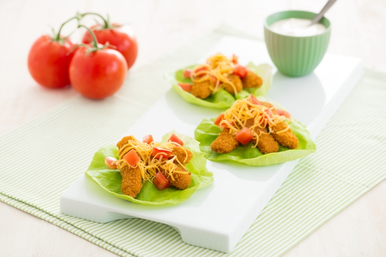 Smart Lettuce Wraps from Gorton's Seafood
