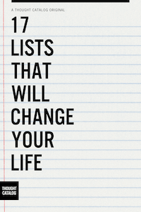 17 Lists That Will Change YourLife