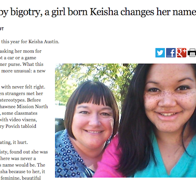 From Keisha to Kylie: On Name-Based Discrimination And Racism