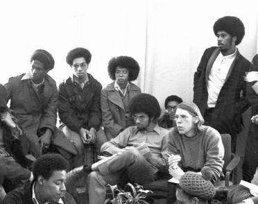 april 1972 meeting with blacks