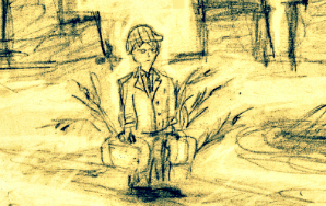 I Drew A Drawing Of 'The Catcher In The Rye'