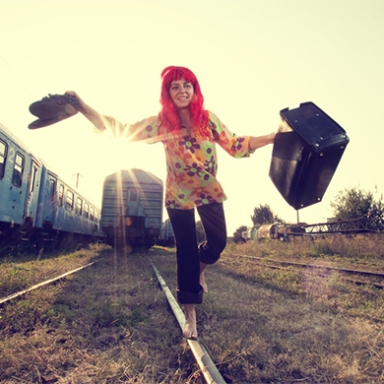 Sometimes Courage Means Being The Crazy Girl On A Train