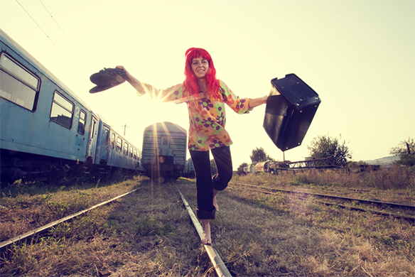 Sometimes Courage Means Being The Crazy Girl On ATrain