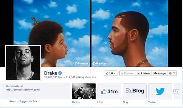 5 Things Facebook Ruined For Us: By Drake, Probably