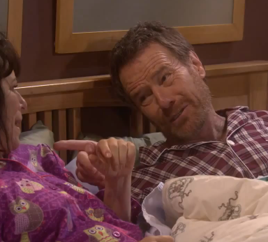 Bryan Cranston And Malcolm In The Middle Wife Shoot Breaking Bad Alternate Ending