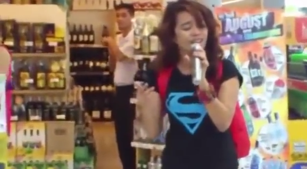 This Literally Unbelievable Video Of Girl Covering Whitney Houston At The Mall Is Blowing MeAway