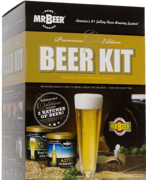 Mr. Beer Gold Edition Beer Kit