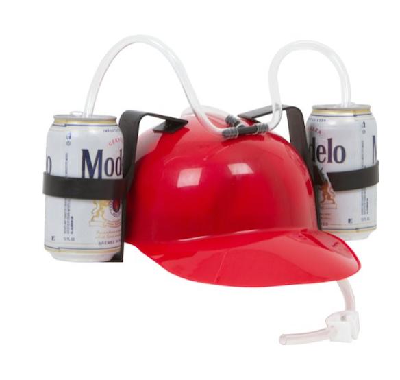 EZ Drinker Beer Helmet