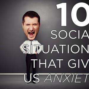 10 Social Situations That Aren't A Big Deal But Give Me Anxiety