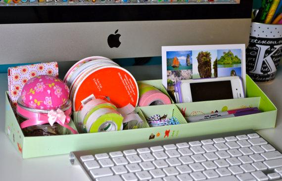 storage desk organizer