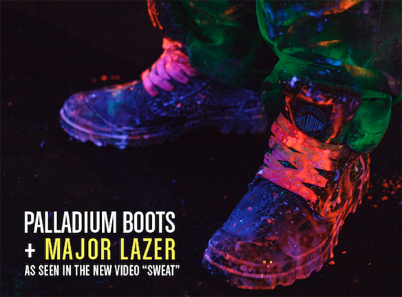 Palladium Boots & Major Lazer Join Forces For An Awesome Track & MusicVideo