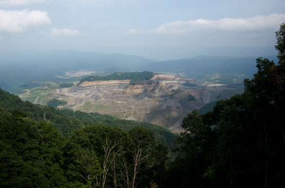 Black Mountain, Virginia / Kentucky border