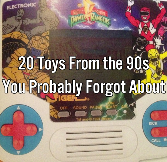 20 Toys From the 90s You Probably Forgot About
