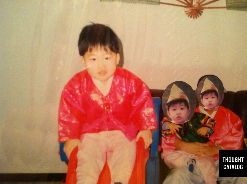 Our parents got us Little Tykes stuff all the time. This was probably around New Year's or something.