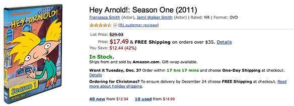 Hey Arnold!: Season One