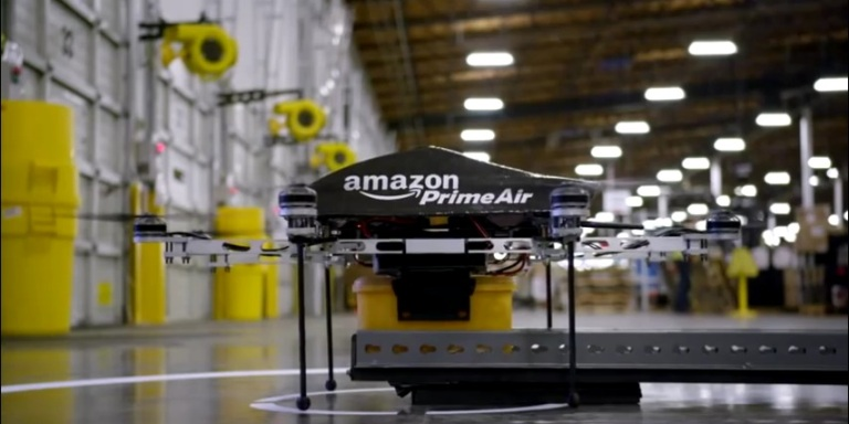 Not Creepy At All: Amazon's Going To Be Sending Drones To Your HouseNow