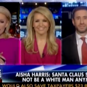 Santa Claus: Still White