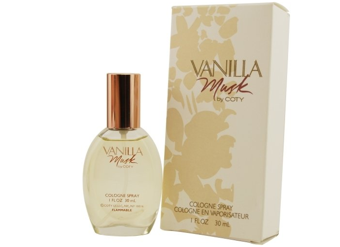 Coty Vanilla Musk Cologne